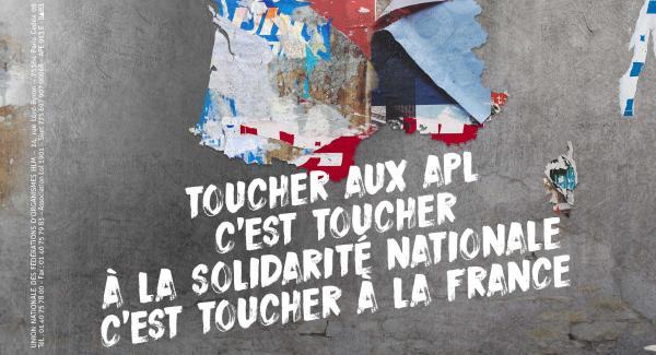 Affiche USH Défense HLM APL