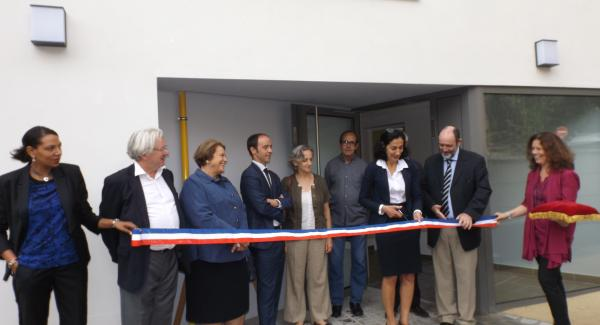 Inauguration 11 logements Clos St Antoine rue de l'ermitage Versailles