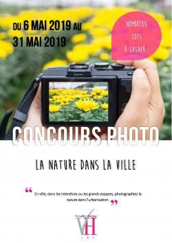 Concours photos Versailles Habitat mai 2019