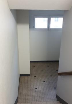 escalier résidence Edmé Frémy/ remise en peinture