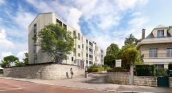 Perspective réhabilitation Résidence Sans-Souci (cabinet Ithaques Architecture)