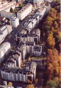 Photo aérienne résidence des Chantiers
