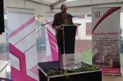 Inauguration Villa aux Fleurs M. Bancal Président de Versailles Habitat