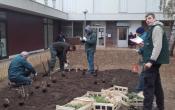 Encadrement technique du chantier par l'association ESPACES