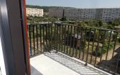 La Porte de Jardins vue sur les jardins familiaux