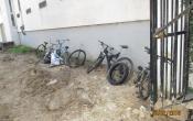 Nettoyage du bassin Résidence Richard Mique : vélos récupérés au fond