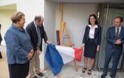 Clos St Antoine plaque d'inauguration