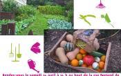 Affiche lancement jardin partagé Bernard de Jussieu