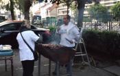 Le traditionnel barbecue des Voisins