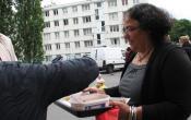Résidence Bernard de Jussieu la gardienne Mme Dirand propose une spécialité culinaire