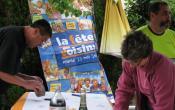 Fête des Voisins 2014 Hameau St Nicolas les préparatifs