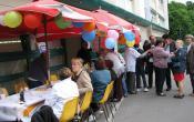Résidence Bernard de Jussieu les participants à la Fête des voisins 2014