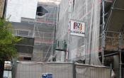 Rue des deux Portes (Façade en cours de réhabilitation)
