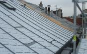 Rue des deux Portes nouvelle toiture zinc en cours