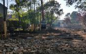 Blum mise en place du chantier septembre 2014